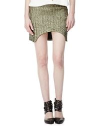 Sass & Bide March To Victory Metallic Skirt - Lyst
