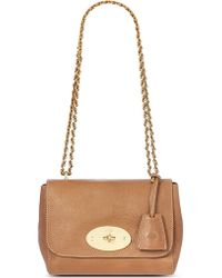 Mulberry Lily Natural Leather Shoulder Bag Oak - Lyst