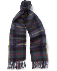 J.Crew | Checked Cashmere Scarf | Lyst