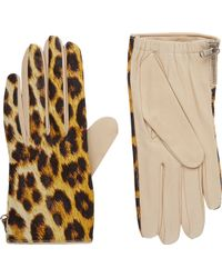 3.1 Phillip Lim - Two-Tone Leather Driving Gloves - Lyst