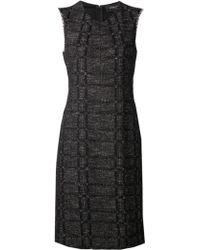 Derek Lam Tweed Dress - Lyst