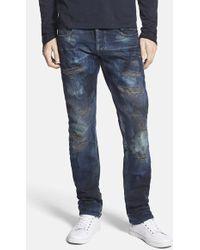 PRPS 'Demon' Slim Straight Leg Jeans - Lyst