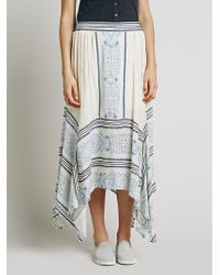 Free People Mischief Magic Print Maxi white - Lyst
