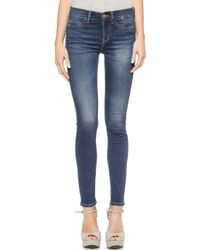 MiH Jeans The Bonn Super Skinny Jeans - Lyst
