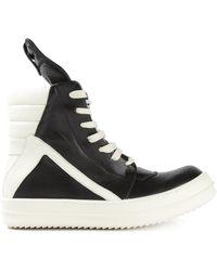Rick Owens 'Geo Basket' Hi-Top Sneakers - Lyst