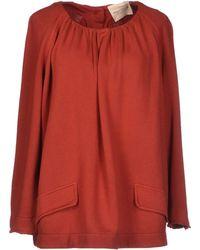 Erika Cavallini Semi Couture Sweatshirt - Lyst