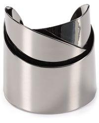 Alexis Bittar Metal Geometric Ribbon Cuff - Lyst