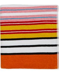 Moschino Logo Print Towel - For Women multicolor - Lyst