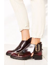 Jeffrey Campbell Flamel Cutout Boot - Lyst