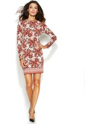 Michael Kors Michael Petite Paisley Shift Dress - Lyst