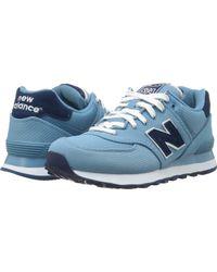 New Balance Wl574 - Pique Polo Collection blue - Lyst