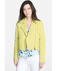 J Brand Aiah'Leather Jacket - Lyst