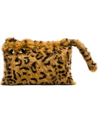 Alice + Olivia - Bengal Tiger Rabbit Fur Muff - Lyst