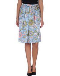 Jucca Knee Length Skirt - Lyst