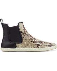 Marc By Marc Jacobs Gracie Printed Leather Sneakers - Lyst