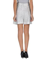 Acne Studios Mini Skirt - Lyst