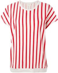 American Vintage Striped T-Shirt - Lyst