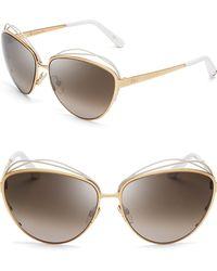 Dior Songe Oversized Sunglasses - Lyst