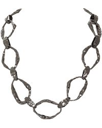 House Of Harlow 1960 Textured Link Necklace - Lyst