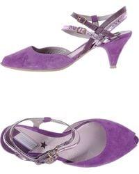 Vic Matie' Sandals purple - Lyst