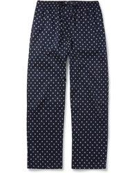 Derek Rose Nelson Lifebuoy-Printed Pyjama Trousers - Lyst