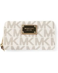 Michael Kors Monogram Print Phone Case - Lyst