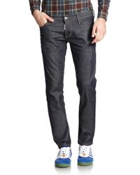 DSquared² Slim-Fit Jeans blue - Lyst