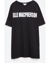 Zara | Elle Macpherson T-shirt | Lyst