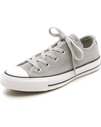Converse Chuck Taylor All Star Suede Sneakers - Lucky Stone - Lyst