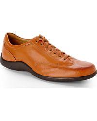 Cole Haan Cognac Dalton Oxfords - Lyst