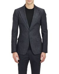 Dolce & Gabbana Blue Martini Suit - Lyst