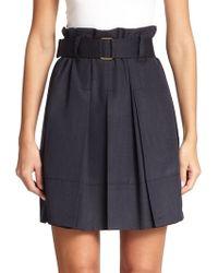 Marc Jacobs Pleated High-Waisted Skirt - Lyst