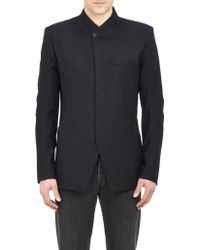 Helmut Lang Felted Twill Jacket - Lyst