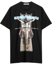 Givenchy - Jesus Print Cotton T-shirt - Lyst