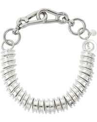 Moxham - Silver-tone Choker Necklace - Lyst