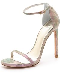 Stuart Weitzman Nudist Sandals  Rose - Lyst