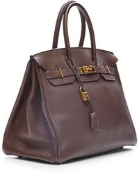 Heritage Auctions Special Collection Hermes 35cm Chocolate Togo Birkin - Lyst