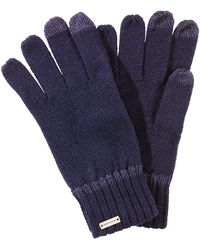 BOSS Orange - Gloves In A Wool Blend With Tech Functionality: 'graas-2' - Lyst