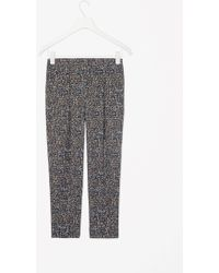 Cos Tapered Printed Trousers - Lyst