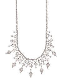 Fallon | Monarch Bib Necklace | Lyst
