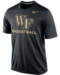 Nike Mens Wake Forest Demon Deacons Basketball Practice T-shirt - Lyst