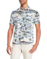 Bellfield - Tropical Print Shirt - Lyst