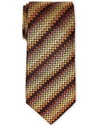 Missoni - Wavy Degrade Silk Tie - Lyst