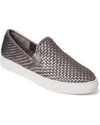 J/Slides - Pewter Flynn Woven Slip-on Sneakers - Lyst