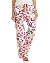 Hue - Floral Pajama Pants - Lyst