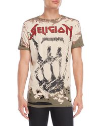 Religion - Live In Black Tee - Lyst