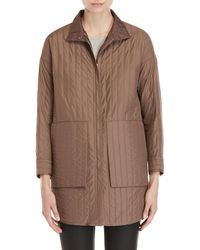 Demoo Parkchoonmoo - Stitch Stripe Lightweight Jacket - Lyst