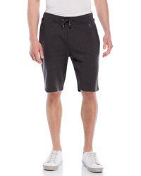 The Kooples Sport - Flannel Bermuda Shorts Black - Lyst