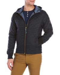 Dstrezzed - Hooded Quilted Jacket - Lyst