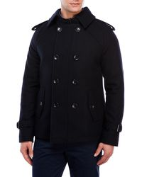 Moods Of Norway | Leif Dale Wool-Blend Peacoat | Lyst